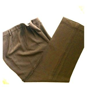 Ellen Tracy Brown Trouser Pants Size 16